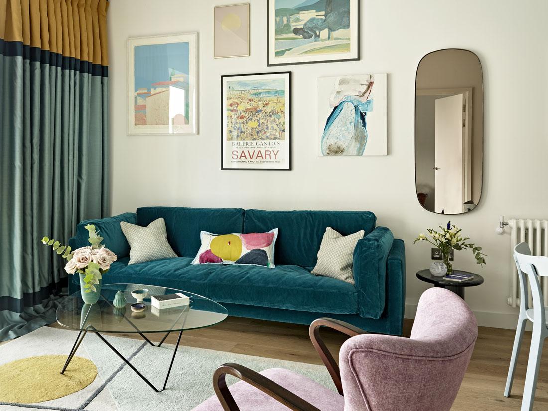 Квартира на острове: лондонский интерьер от московского дизайнера