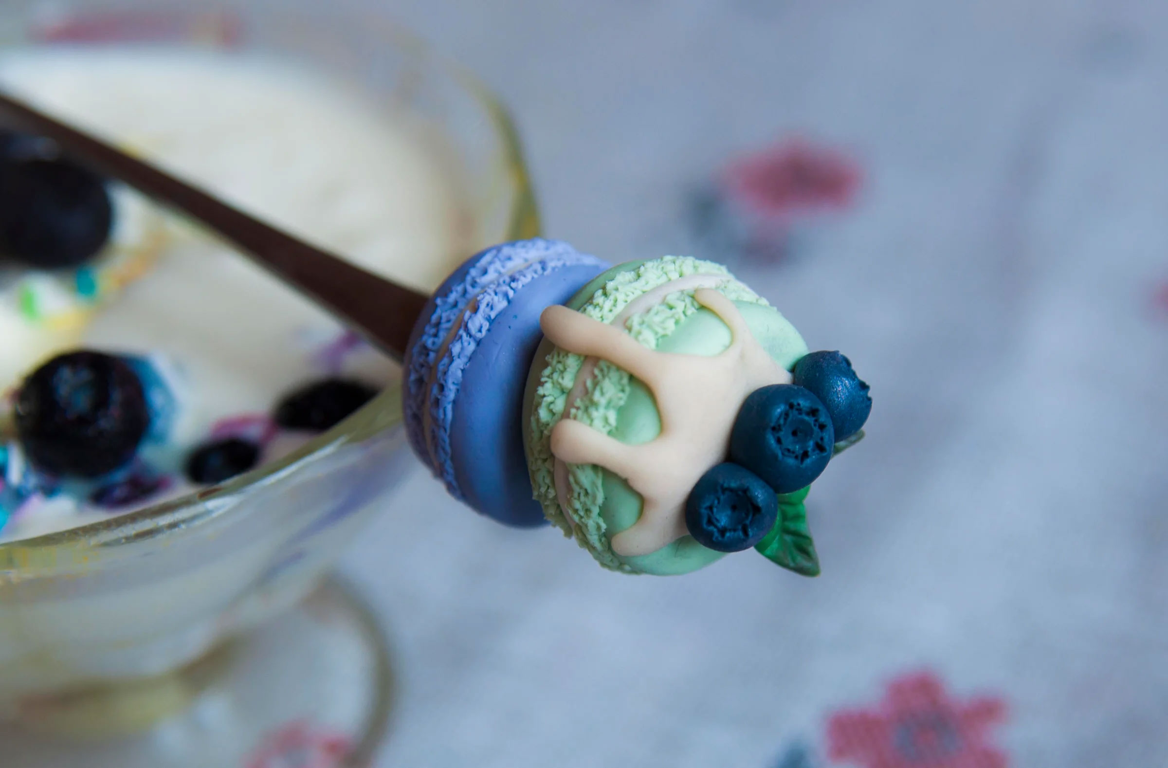 Необычный декор из полимерной глины на обычной чайной ложке своими руками