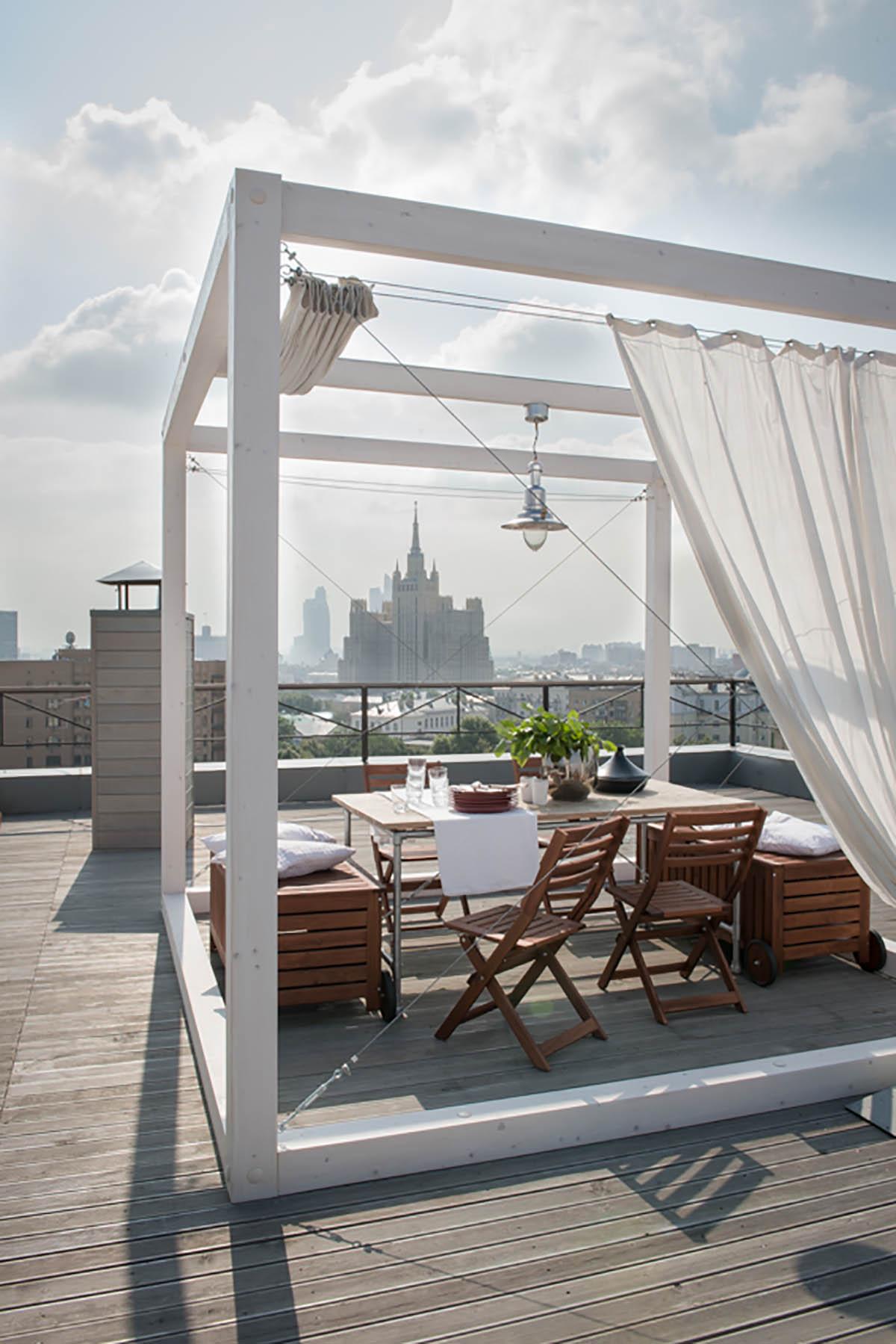 Дизайн интерьера квартиры для семьи архитекторов