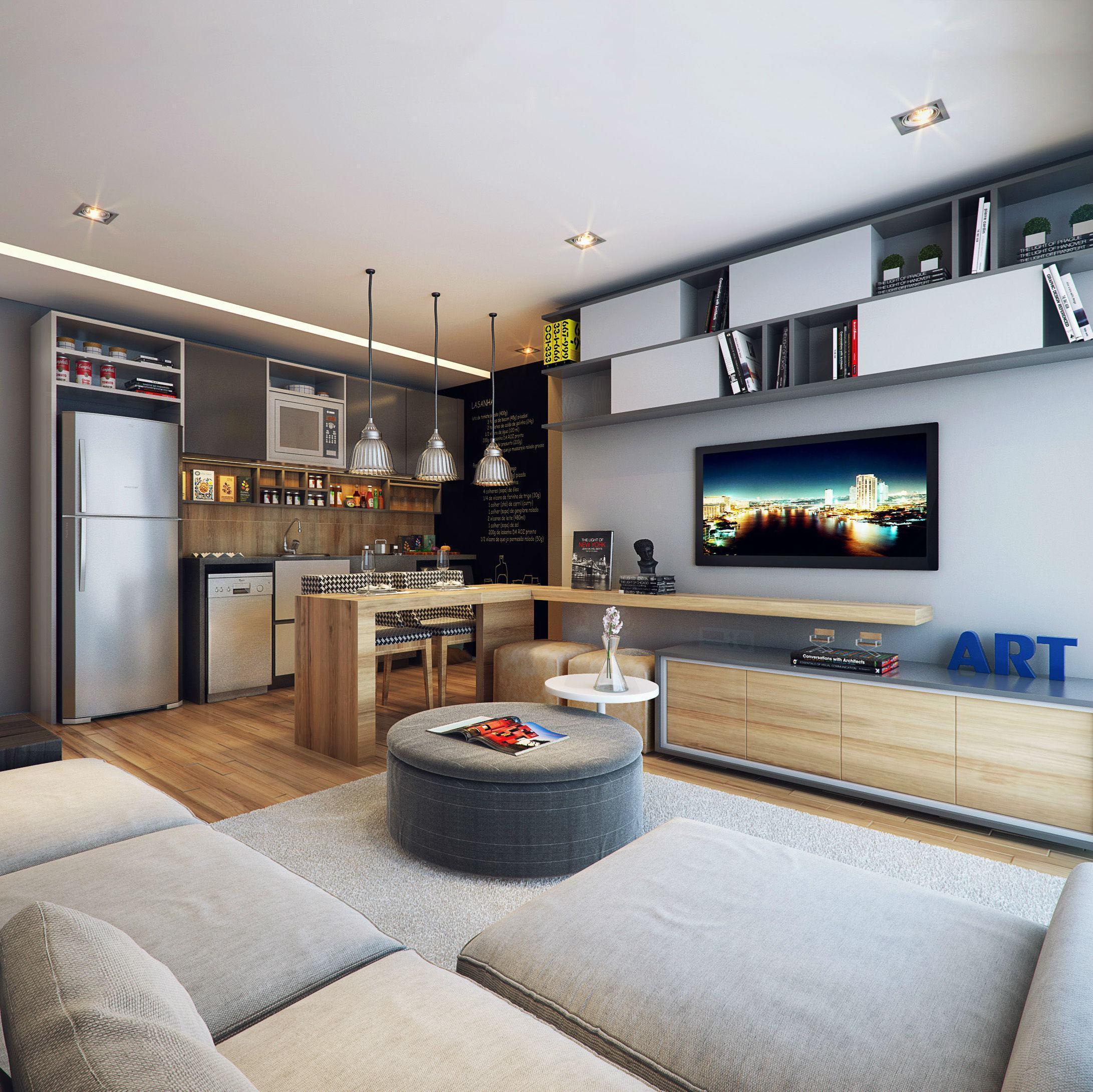 Как объединить кухню и гостиную: 6 главных правил зонирования