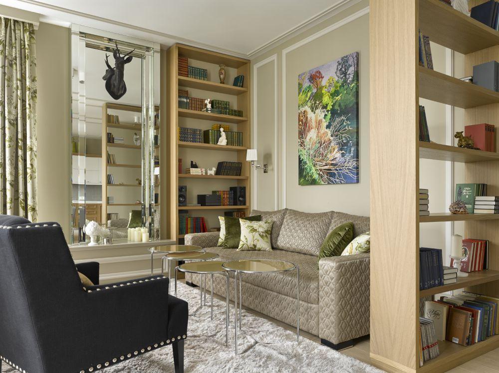 Просторный интерьер московской квартиры для размеренной жизни