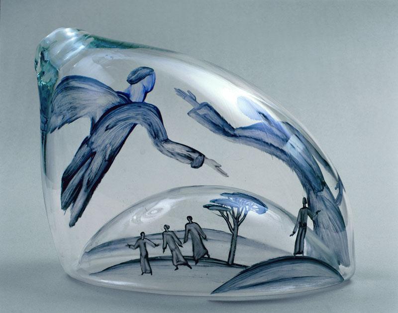 400 уникальных произведений из стекла на выставке в Москве