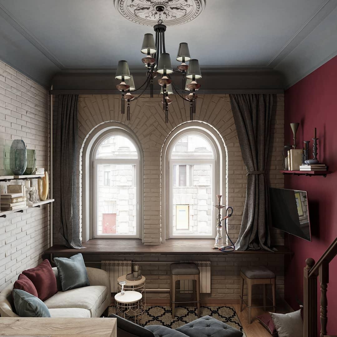 Квартира-студия в мавританском стиле в Санкт-Петербурге