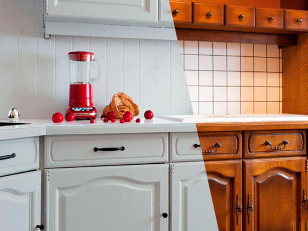 Как перекрасить старую кухню самостоятельно?
