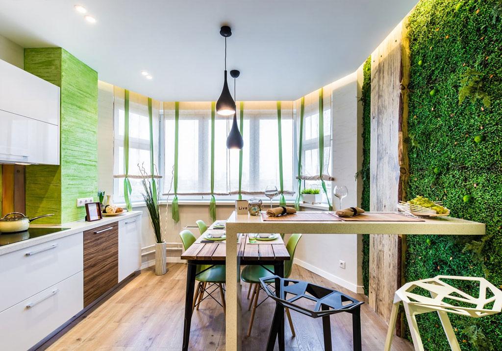 Как и чем украсить стены на кухне?