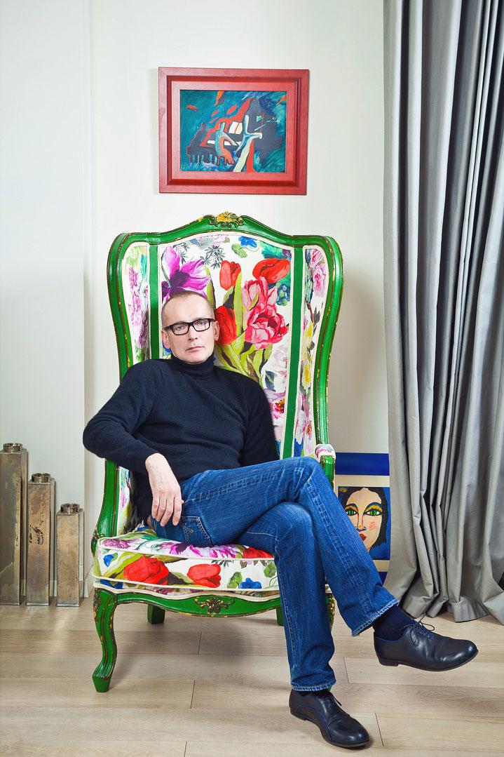 Дизайн маленькой квартиры звезды сериалов Андрея Руденского