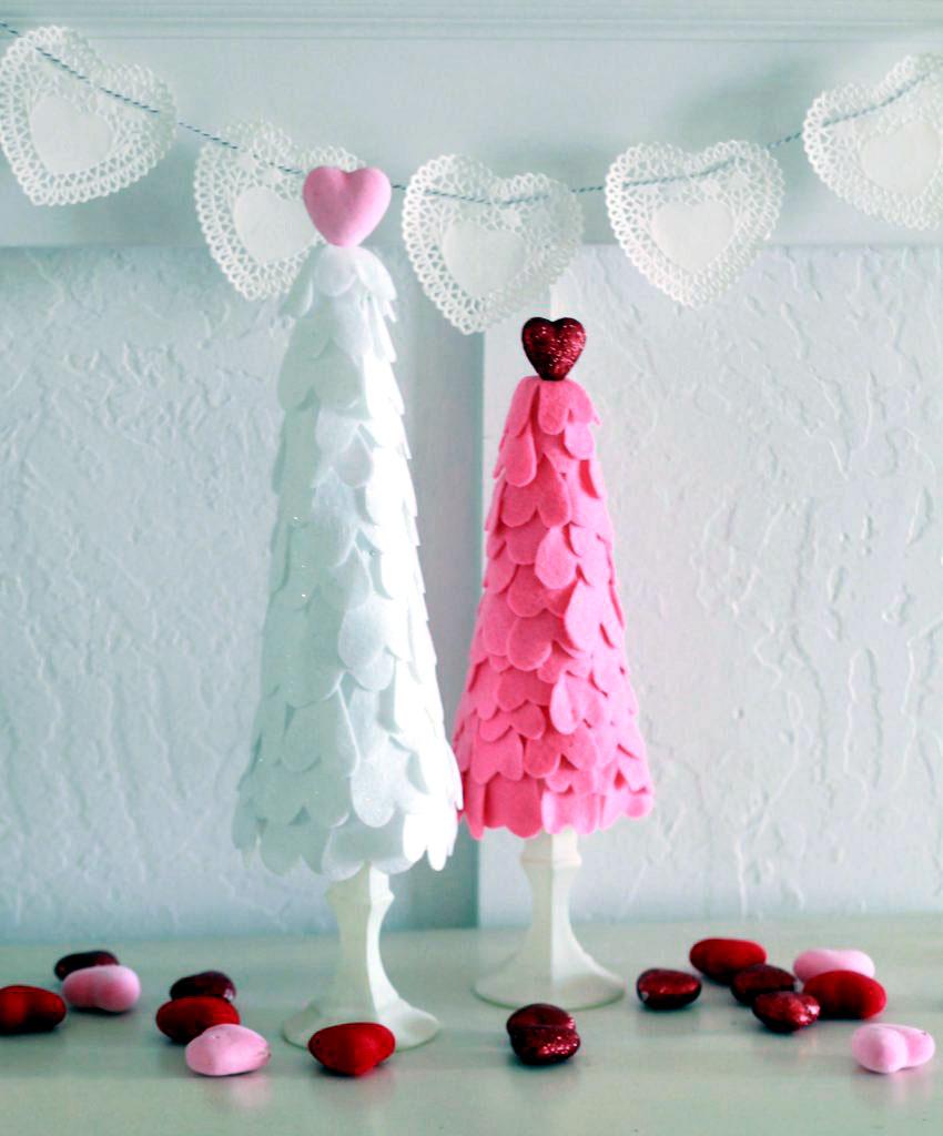 Лучший подарок на День святого Валентина: «сердечное» дерево своими руками