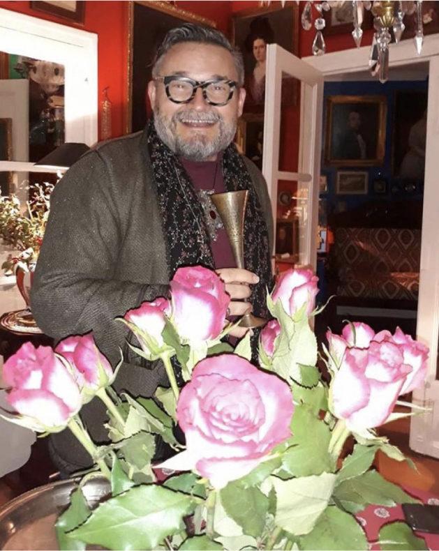 Парижская квартира историка моды и дизайнера Александра Васильева