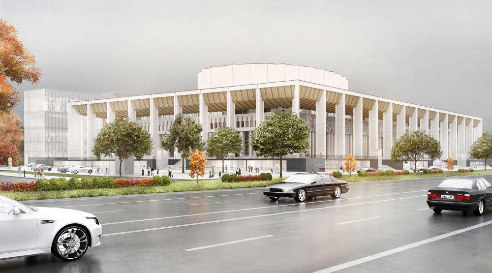 Согласован проект реконструкции Московского дворца молодежи