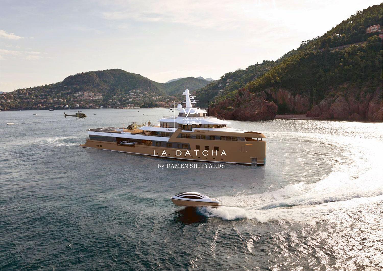 Роскошный интерьер плавающей дачи Олега Тинькова: LA DATCHA яхта-ледокол скандального миллиардера