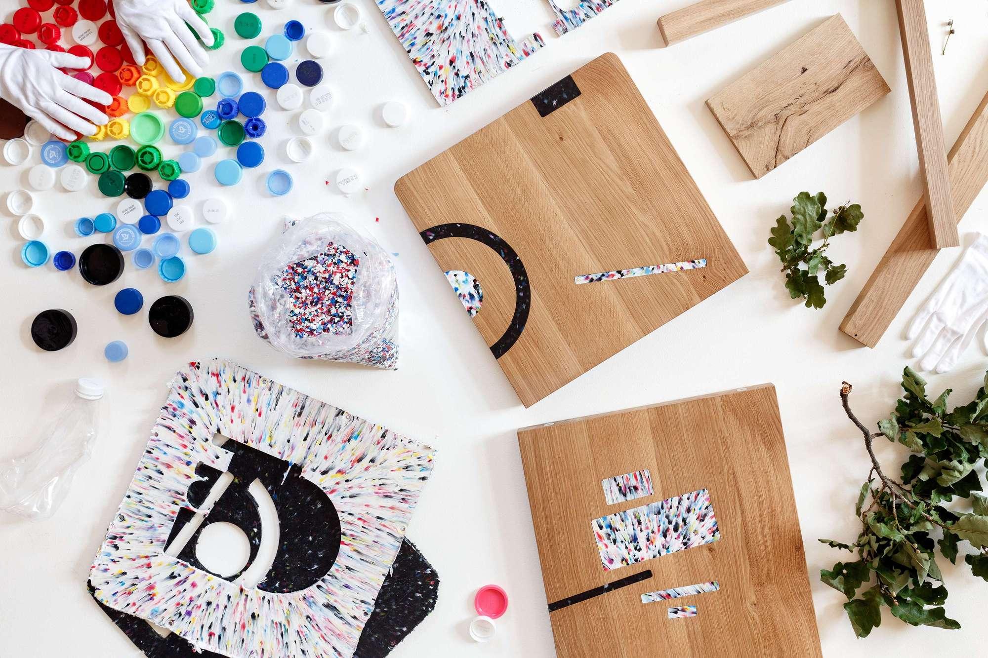 Мебель из дуба и переработанного пластика от Российской студии из Санкт-Петербурга 52 Factory