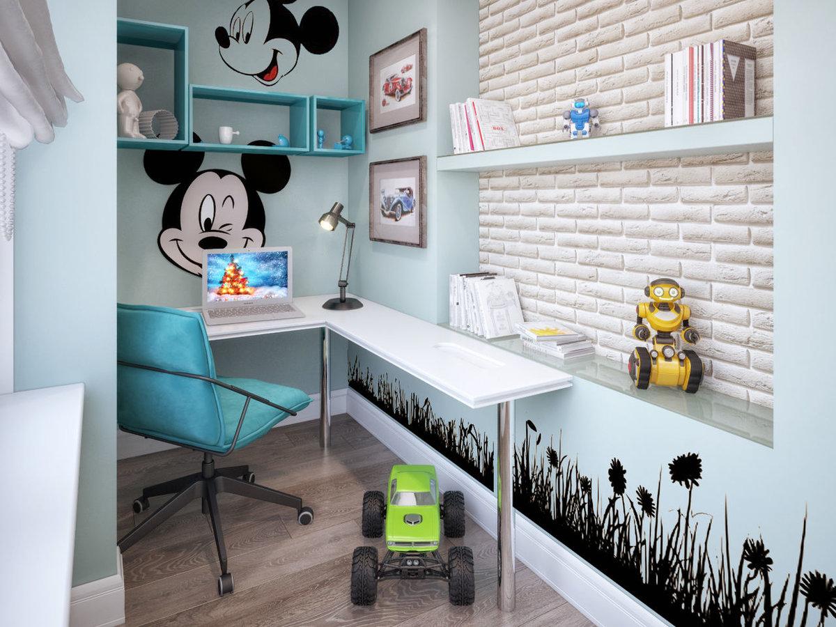 Как правильно организовать рабочее место для школьника в однокомнатной квартире?