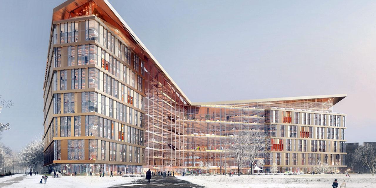 Какой будет новая штаб-квартира «Яндекса» (фото)