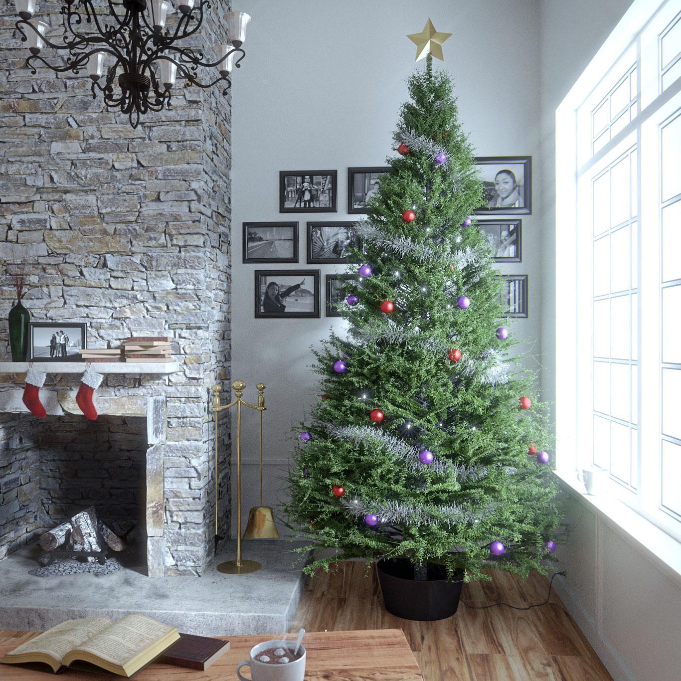 Куда в квартире поставить новогоднюю ёлку в уходящем 2020 году?