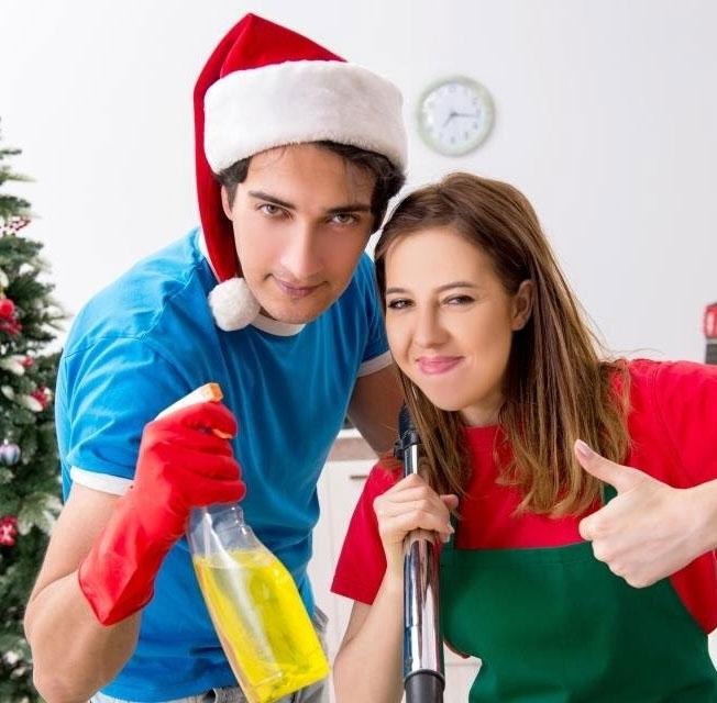 Как быстро убрать квартиру после новогодних праздников и длинных зимних каникул