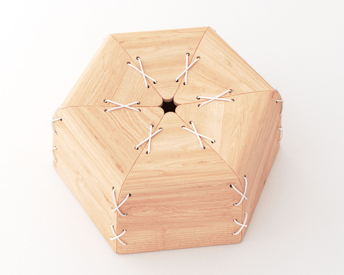 Стул-мандарин от дизайнера Лоренцо Вега