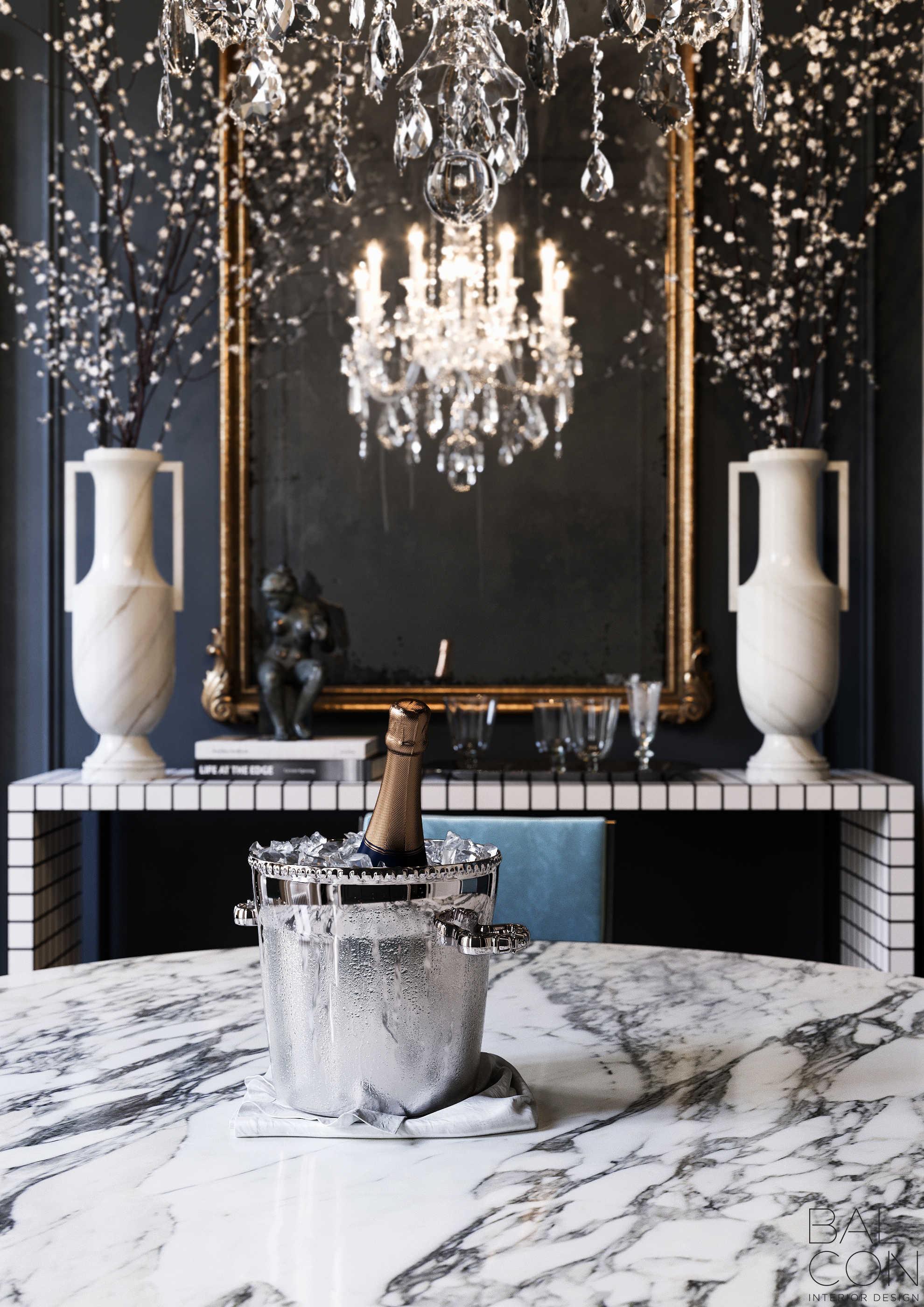 Парижский шарм московской квартиры: стильный интерьер с винтажными мотивами