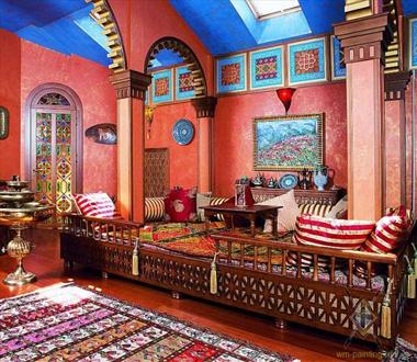 Марокканский стиль.