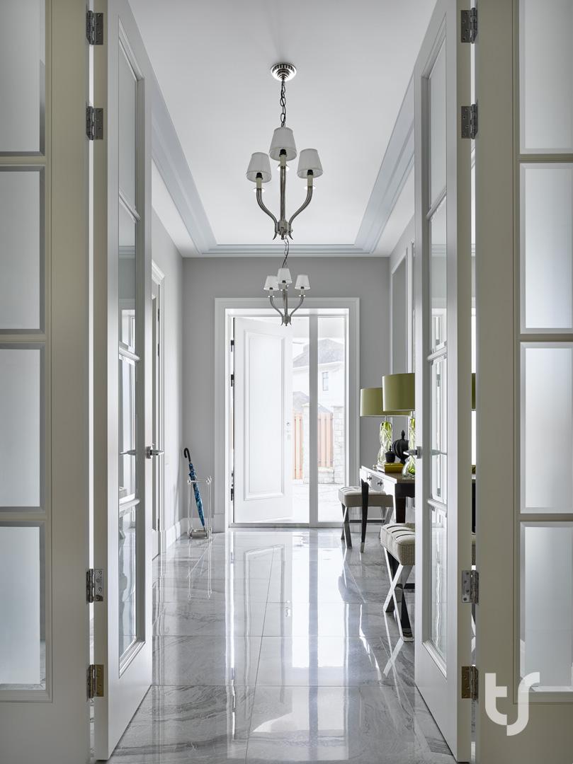 Функциональный дизайн трёхэтажного дома с чистого листа
