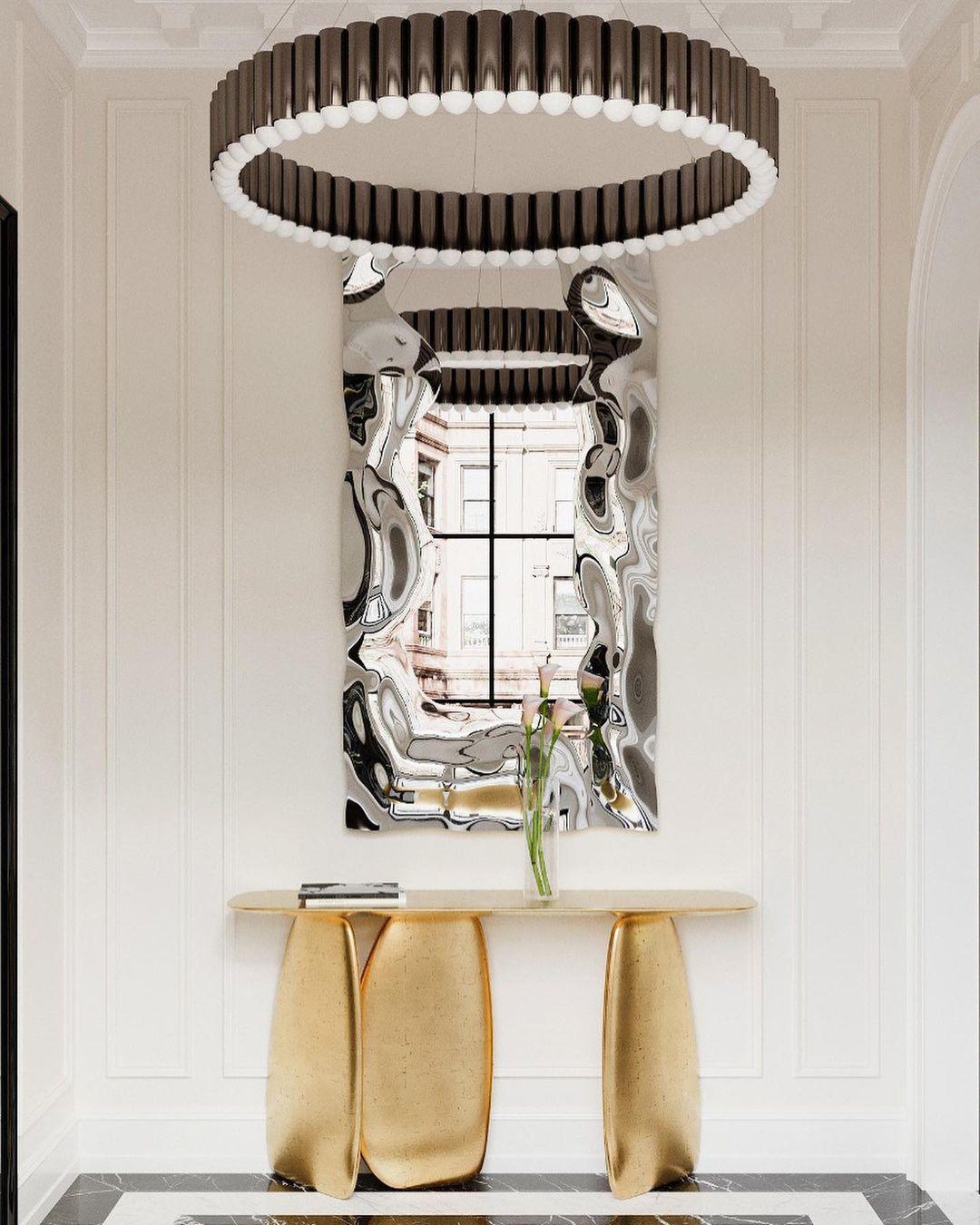 Дизайн интерьера на стыке классики и современности для шикарного особняка в Бруклине
