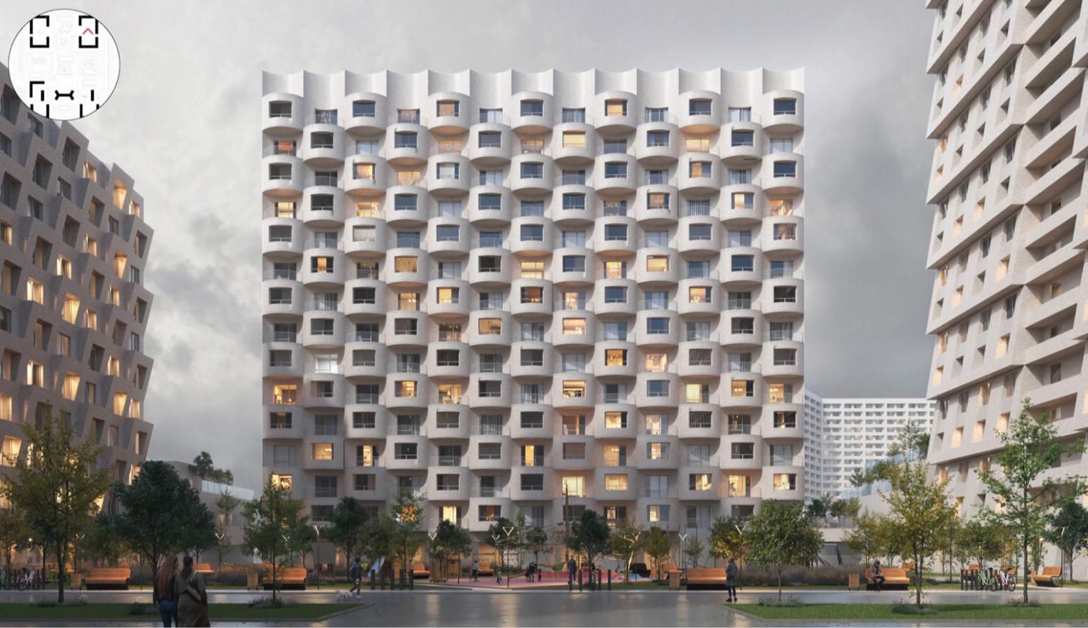 В Москве названы победители архитектурного конкурса по программе реновации