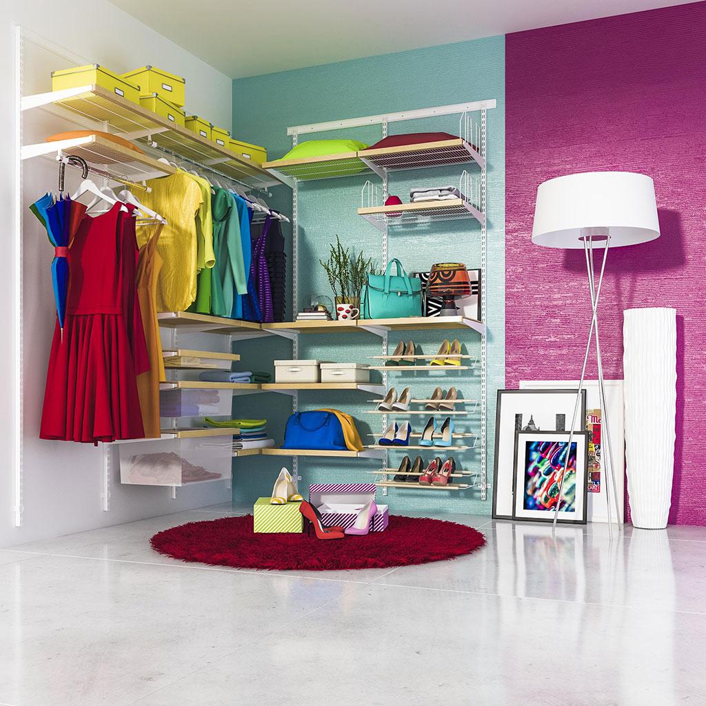 О чём следует позаботиться при планировании гардеробной?