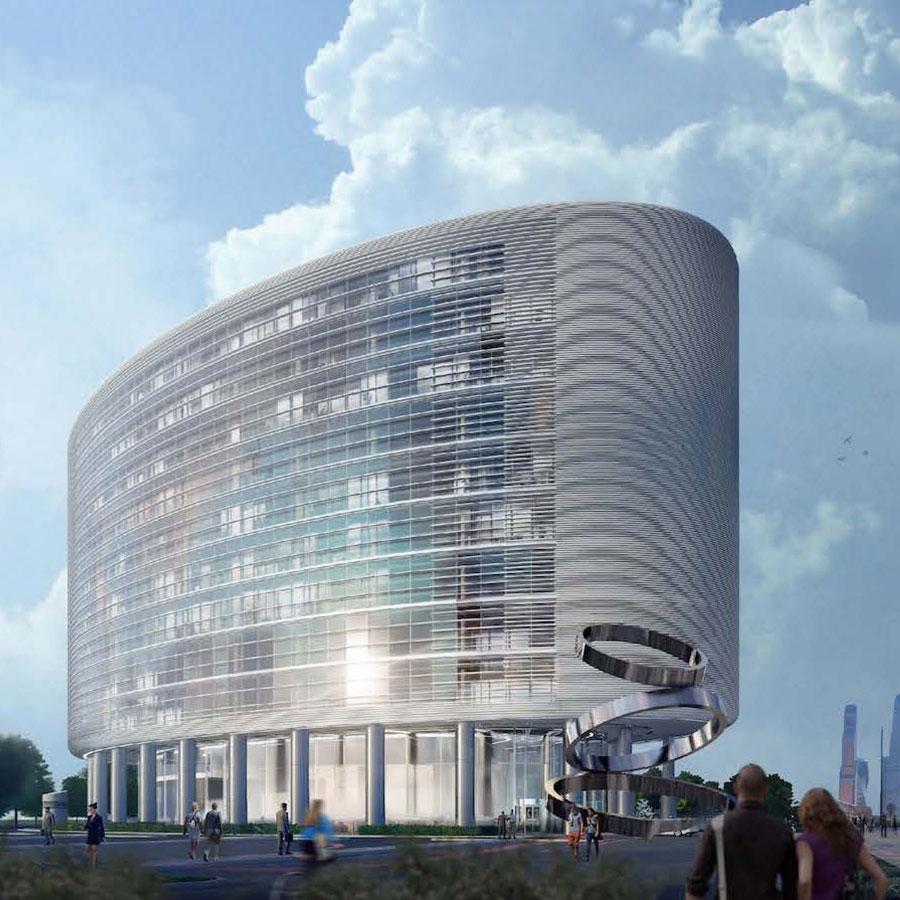 Проект будущего: UNK project возведёт научно-деловой центр в «Большом Сити»