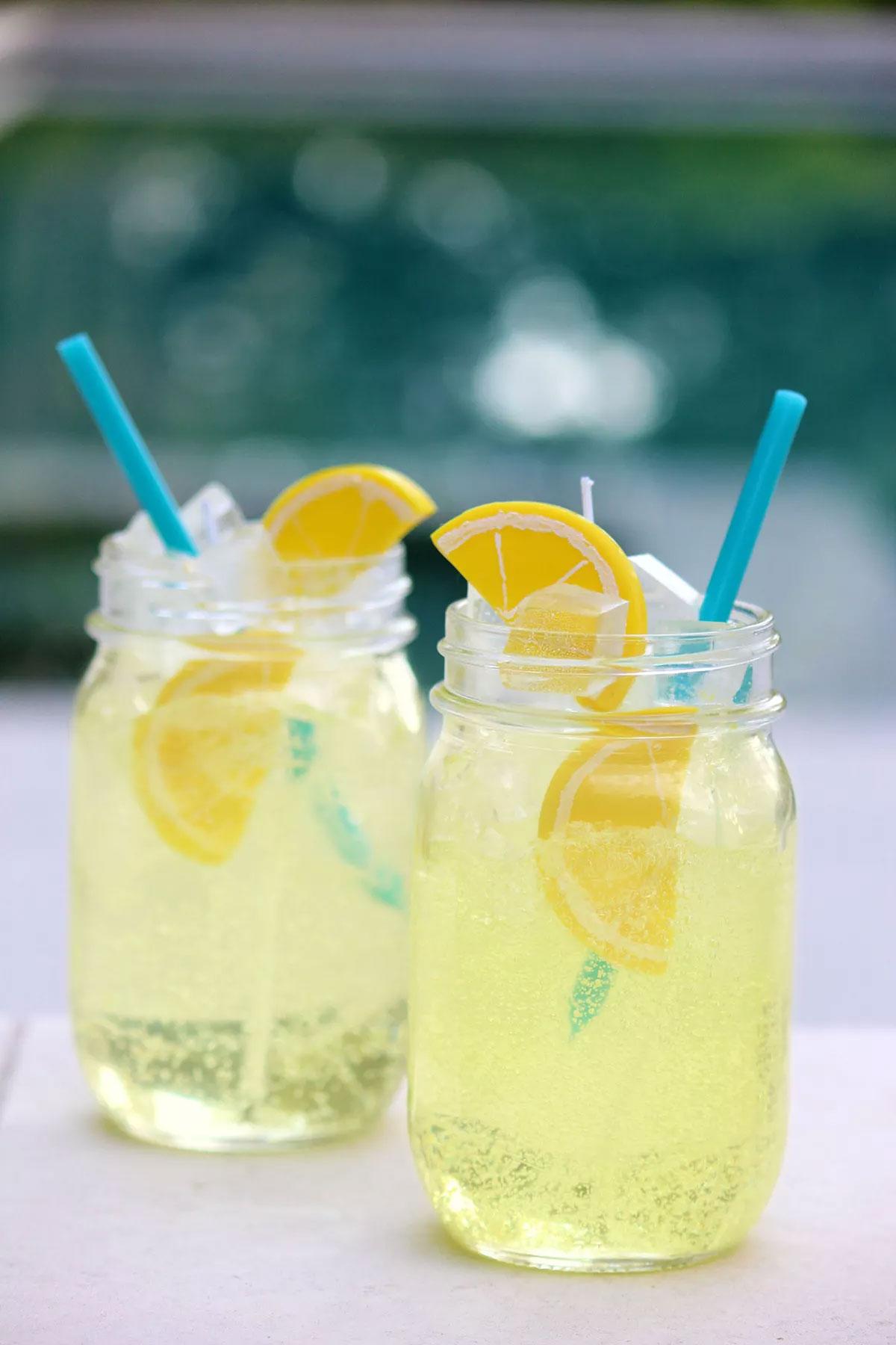 Невероятная декоративная свеча «Летний лимонад» своими руками