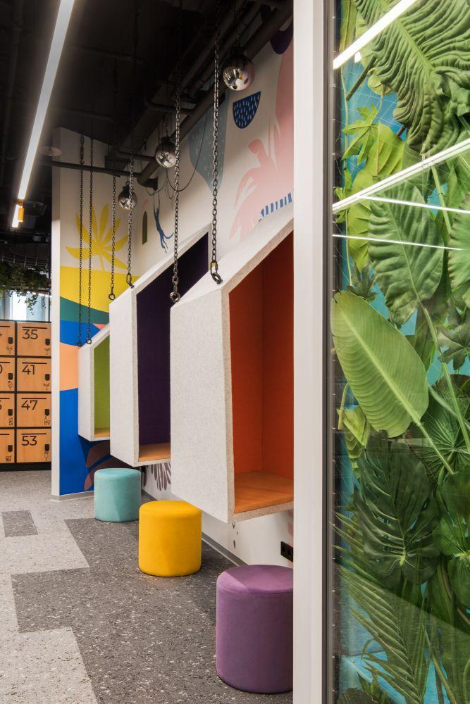 Как офис в стиле «джунгли» повлияет на работу сотрудников