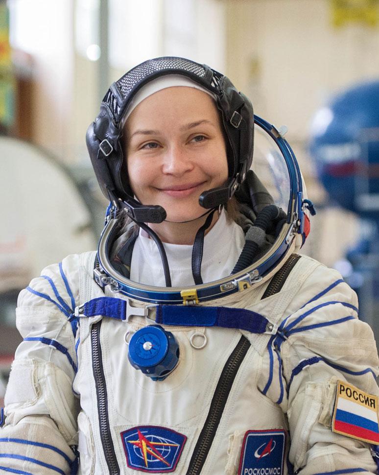 Как живёт первая в мире космическая актриса Юлия Пересильд