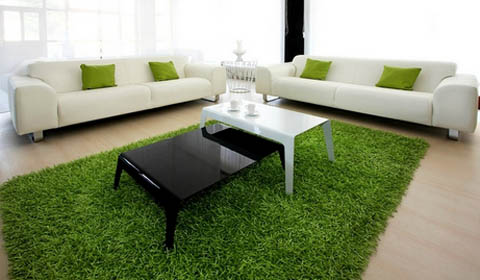 Зеленый цвет и его оттенки в интерьере