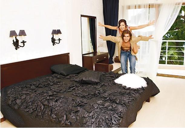 Квартира Анастасии Заворотнюк и ее супруга-фигуриста в Ялте