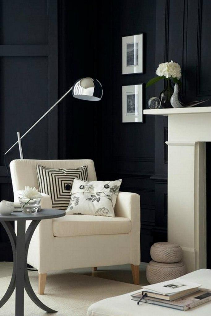 Как правильно использовать черный цвет в интерьере?