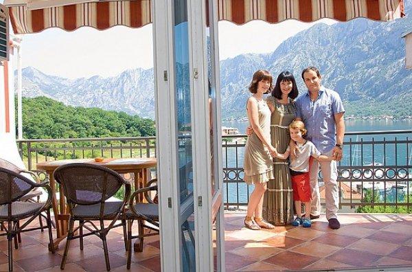 Дом Нонны Гришаевой в Черногории