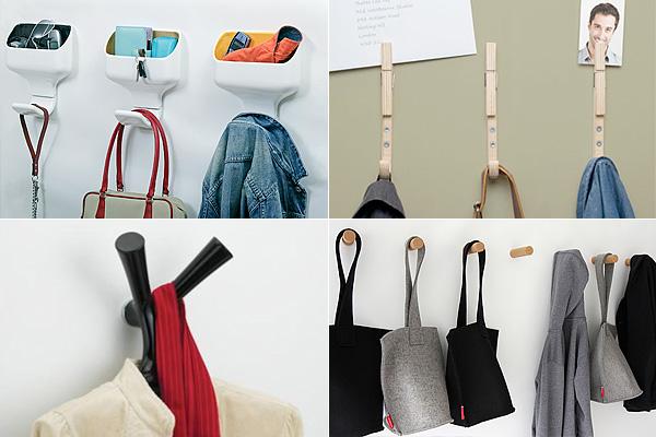 10 способов организовать пространство при помощи дизайнерских крючков