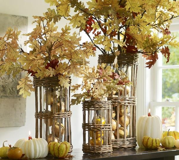 Осенние цвета в интерьере
