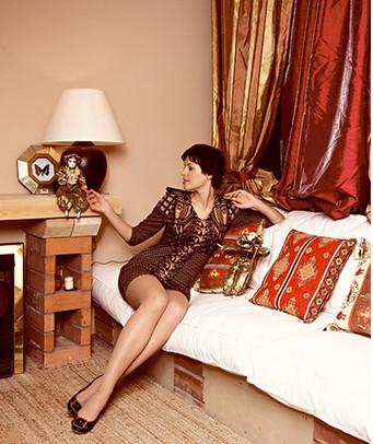 Мария Семкина в её новых аппартаментах