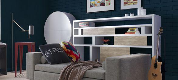 Необычный дизайн интерьера квартиры музыкантов