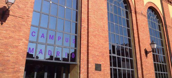 Современный офис Google на заводе в Мадриде