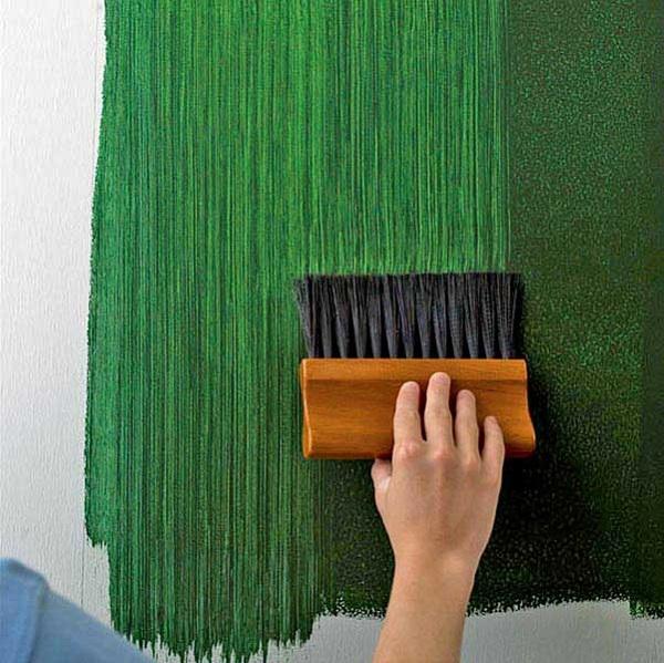 5 необычных техник для окраски стен