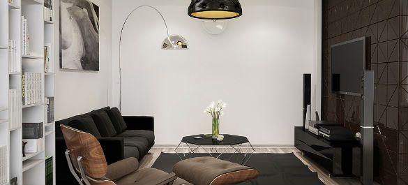 Интерьер квартиры в Сочи для холостяка
