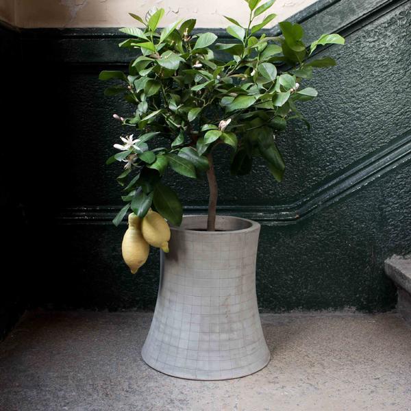 «Ядерный цветок» – необычный дизайнерский аксессуар из бетона