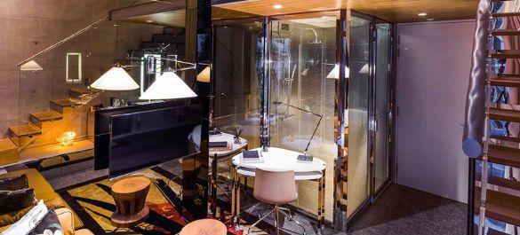Необычный интерьер отеля M social от мировой звезды дизайна Филиппа Старка