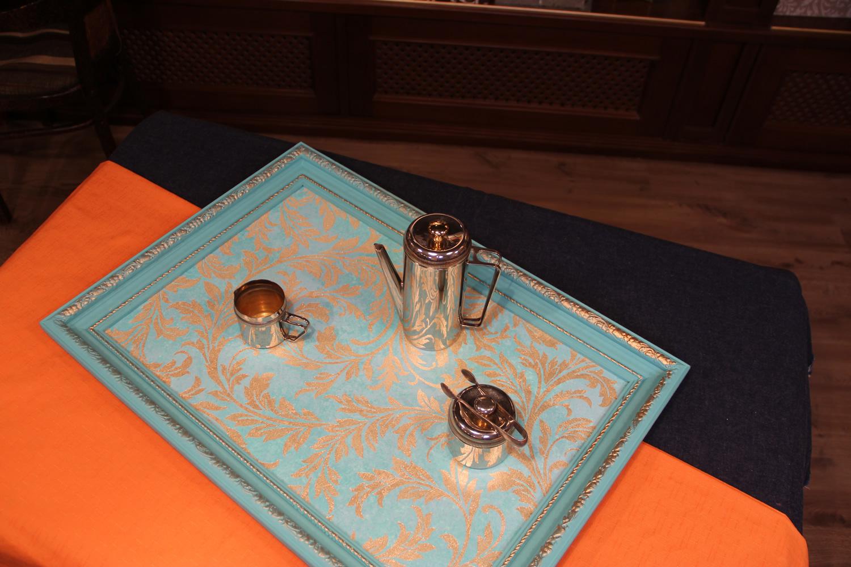 Оригинальный поднос из багетной рамы – мастер-класс от Марата Ка