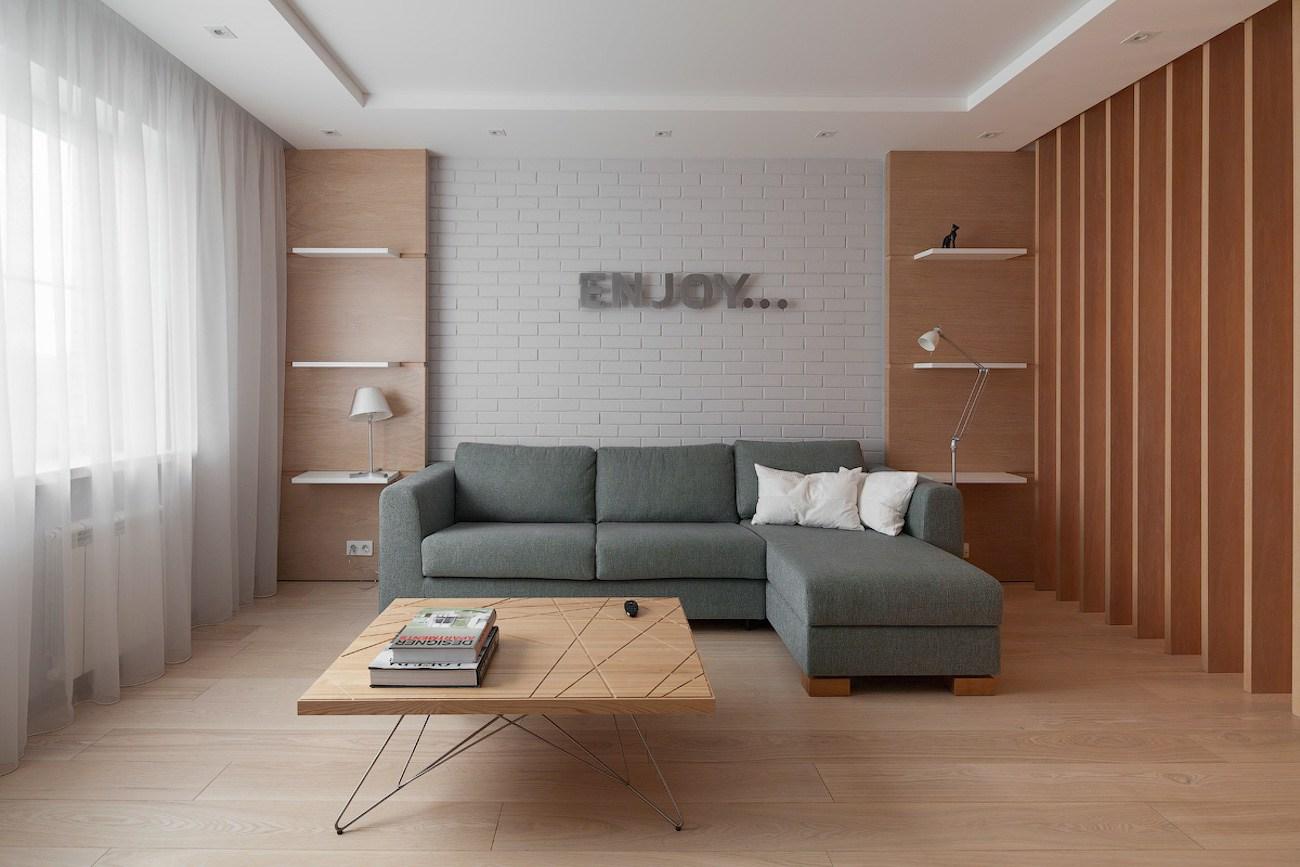 Квартира в Долгопрудном: стильный дизайн при ограниченном бюджете