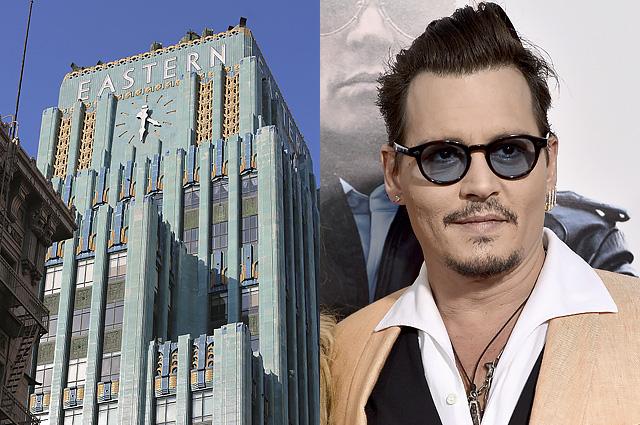 Джонни Депп продаёт свой роскошный пентхаус в Лос-Анжелесе