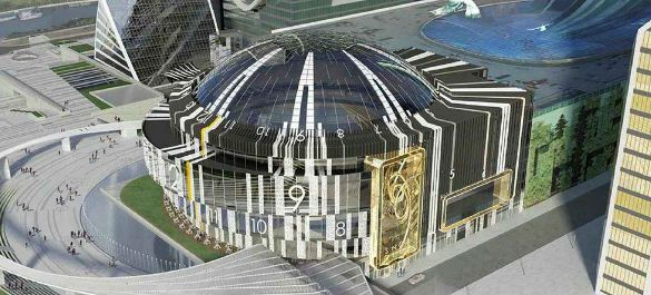 Концертный зал в «Москва-Сити» превратят в самые большие в мире часы